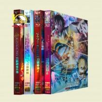 ソードアート・オンライン Season1+2+3+GGO 豪華版 DVD-BOX 全巻
